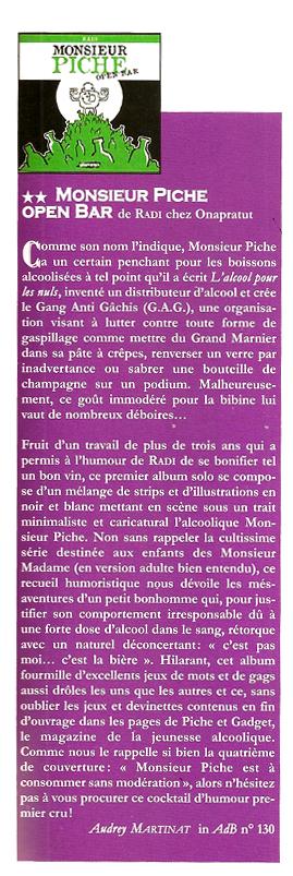 ADB Monsieur Piche