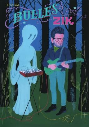 Affiche Bulles Zik 2013