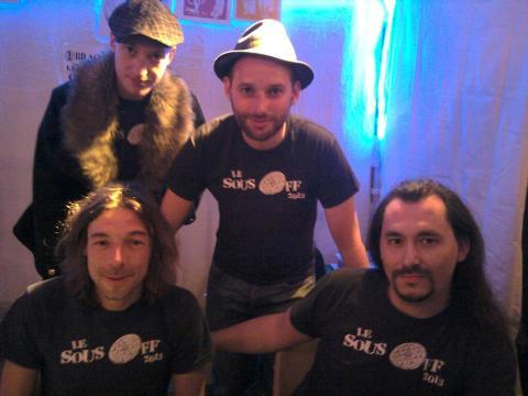 Elric, Yannick, Frèd, Radi