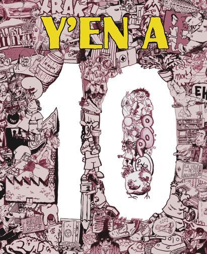 Couverture Y en A n°10